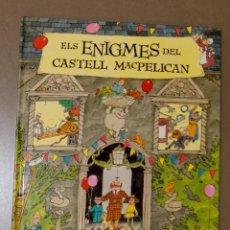Libros de segunda mano: ELS ENIGMES DEL CASTELL MACPELICAN SCOULAR ANDERSON . Lote 147323562