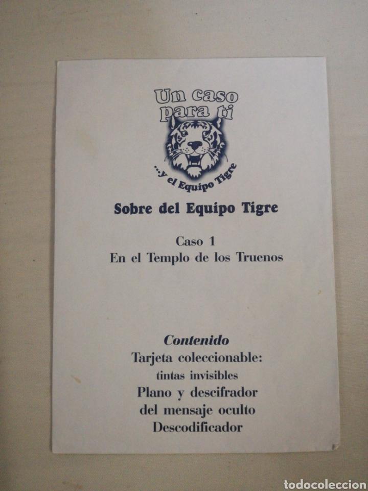 Libros de segunda mano: Un caso para ti y el EQUIPO TIGRE. Thomas Brezina - Foto 2 - 147383289