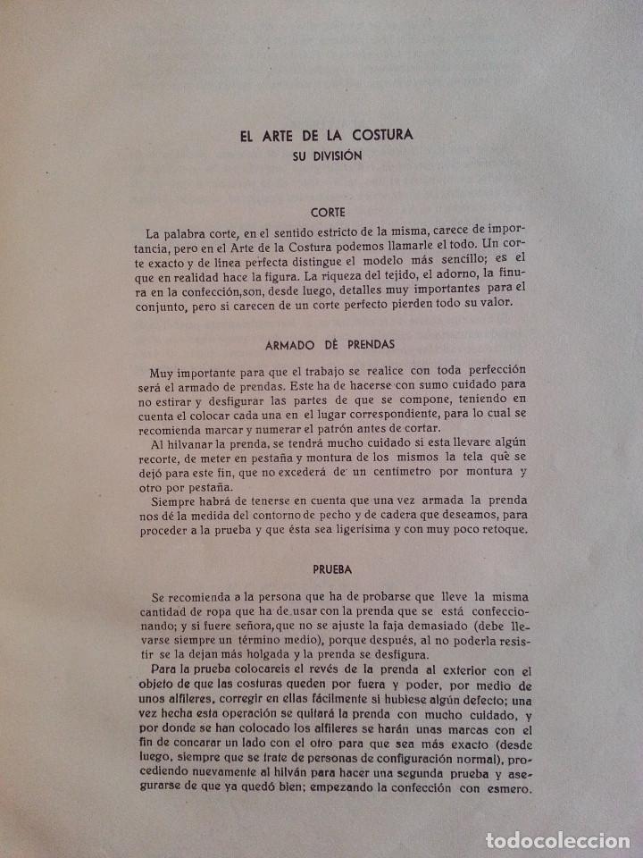Libros de segunda mano: CORTE Y COSTURA, MÉTODO MODERNO, ACADEMIA DE CONFECCIÓN SIERRA (ZARAGOZA) - SASTRERÍA, MODISTERÍA - Foto 5 - 147396614