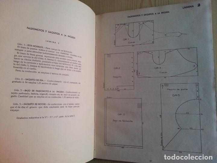 Libros de segunda mano: CORTE Y COSTURA, MÉTODO MODERNO, ACADEMIA DE CONFECCIÓN SIERRA (ZARAGOZA) - SASTRERÍA, MODISTERÍA - Foto 6 - 147396614