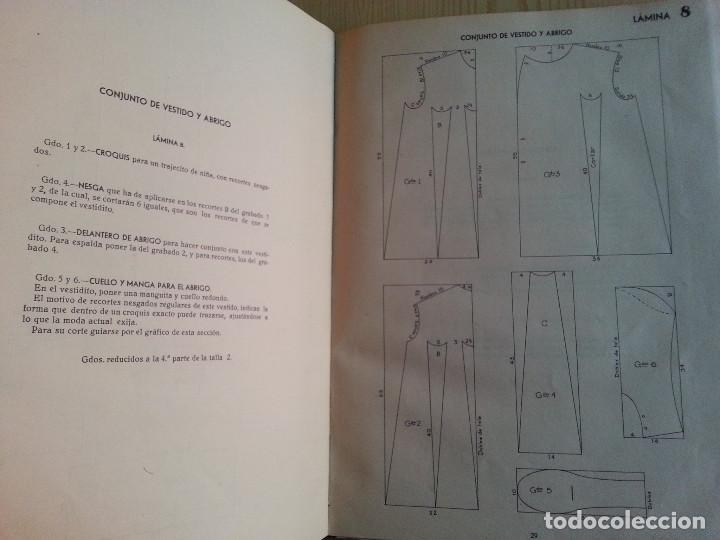 Libros de segunda mano: CORTE Y COSTURA, MÉTODO MODERNO, ACADEMIA DE CONFECCIÓN SIERRA (ZARAGOZA) - SASTRERÍA, MODISTERÍA - Foto 8 - 147396614