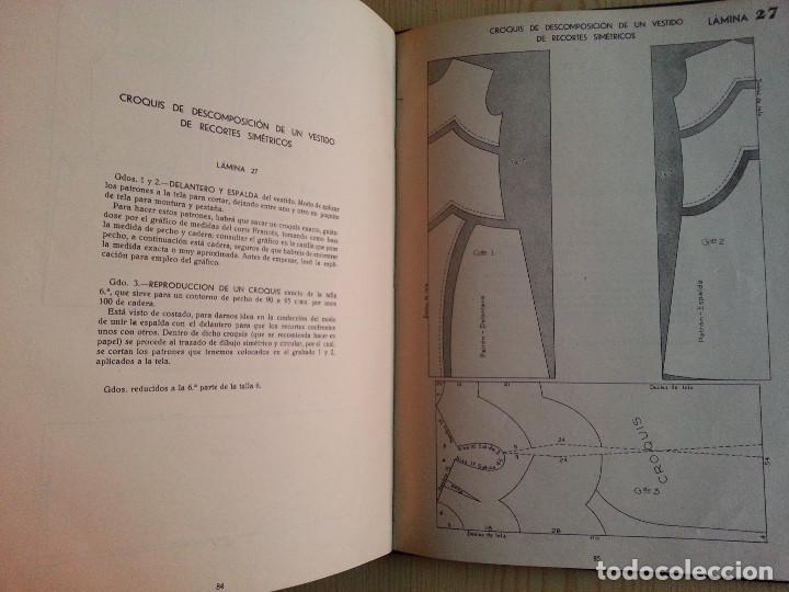 Libros de segunda mano: CORTE Y COSTURA, MÉTODO MODERNO, ACADEMIA DE CONFECCIÓN SIERRA (ZARAGOZA) - SASTRERÍA, MODISTERÍA - Foto 12 - 147396614