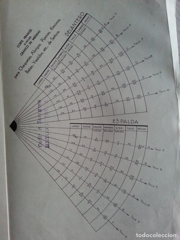 Libros de segunda mano: CORTE Y COSTURA, MÉTODO MODERNO, ACADEMIA DE CONFECCIÓN SIERRA (ZARAGOZA) - SASTRERÍA, MODISTERÍA - Foto 13 - 147396614