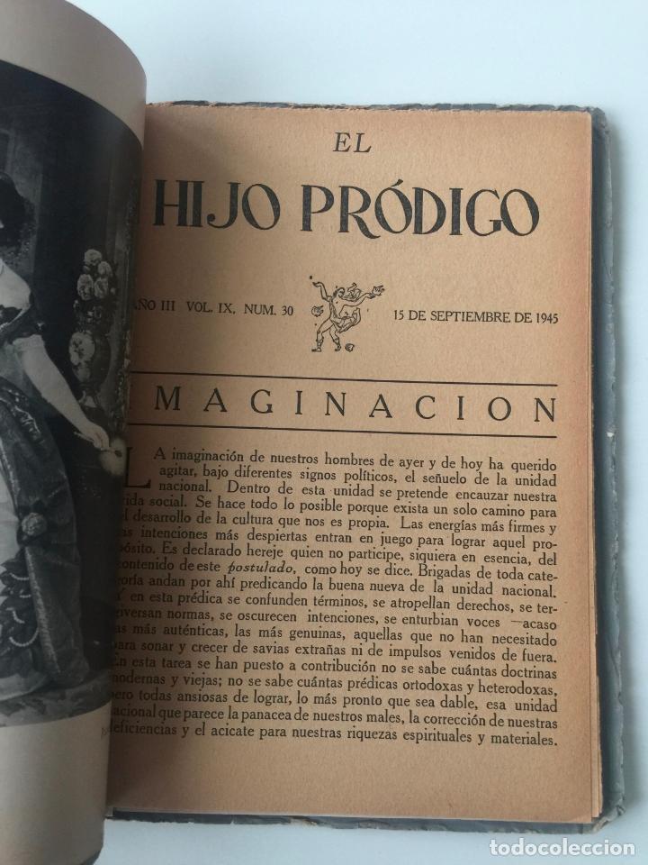Libros de segunda mano: EL HIJO PRÓDIGO REVISTA LITERARIA - MÉXICO - VOL . IX NUM. 30 , AÑO 1945 - Foto 3 - 147406886