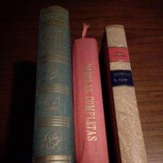 Libros de segunda mano: LOTE 3 LIBROS FÁBULAS: LAS MEJORES FÁBULAS DEL MUNDO, FÁBULAS COMPLETAS Y FÁBULAS DE HARZENBUSCH. Lote 147407134