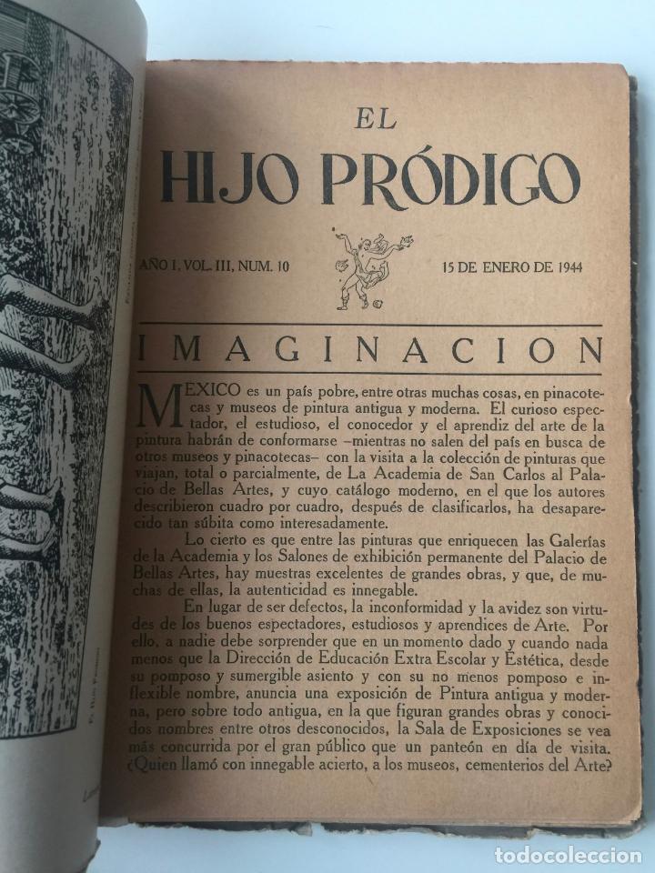 Libros de segunda mano: EL HIJO PRÓDIGO REVISTA LITERARIA - MÉXICO - VOL . III NUM. 10 , AÑO 1944 - Foto 3 - 147407714