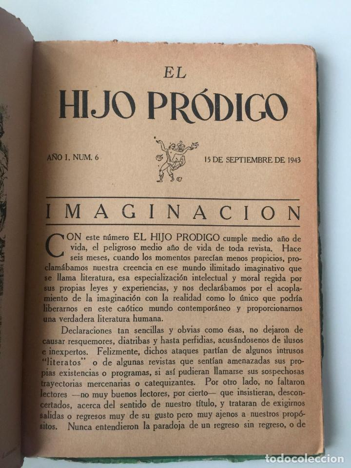 Libros de segunda mano: EL HIJO PRÓDIGO REVISTA LITERARIA - MÉXICO - VOL . I NUM. 6 , AÑO 1943 - Foto 3 - 147408042