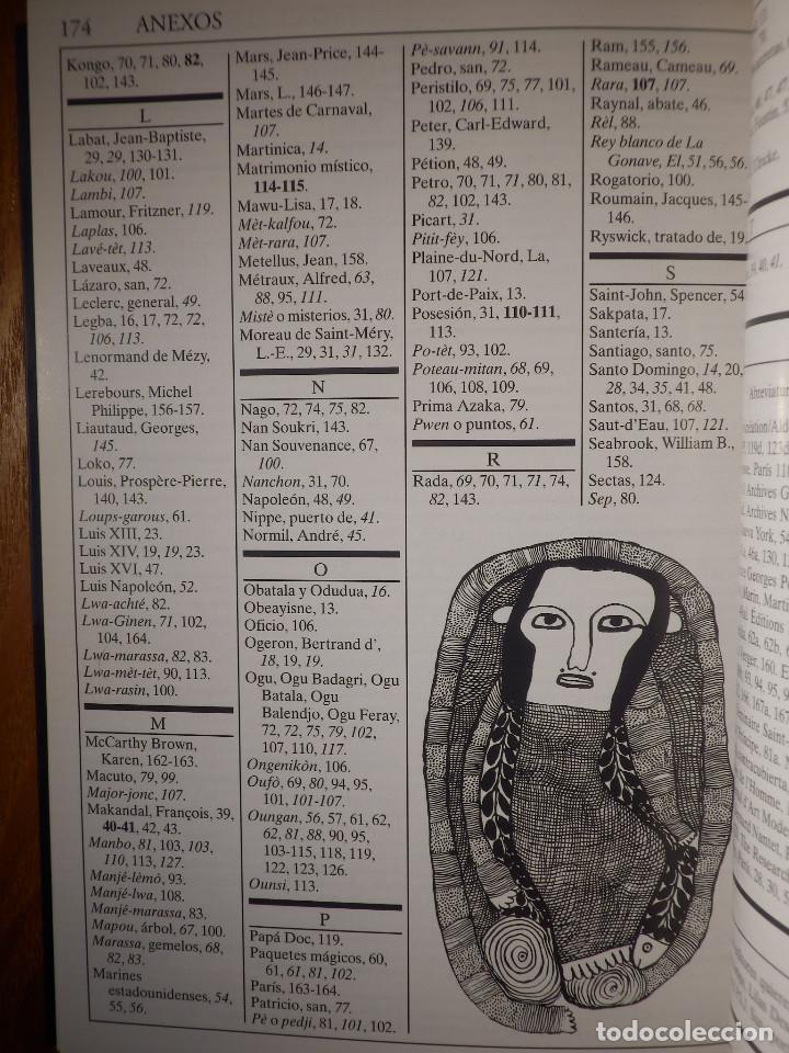 Libros de segunda mano: LIBRO - Los misterios del Vudú - Laennec Hurbon - Biblioteca de Bolsillo Claves 1998 - Foto 8 - 147413610