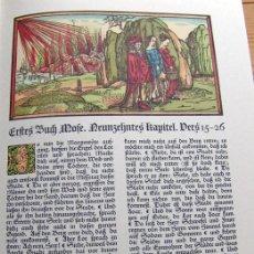 Libros de segunda mano: GRABADOS DE LA BIBLIA DE LÜBECK (S. XV). Lote 147473386