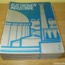 Libros de segunda mano: 15 FASCICULOS DE ELECTRONICA INDUSTRIAL - ED. AFHA.. Lote 147485542