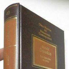 Libros de segunda mano: LOS DERECHOS EN SERIO - RONALD DWORKIN. Lote 147493910