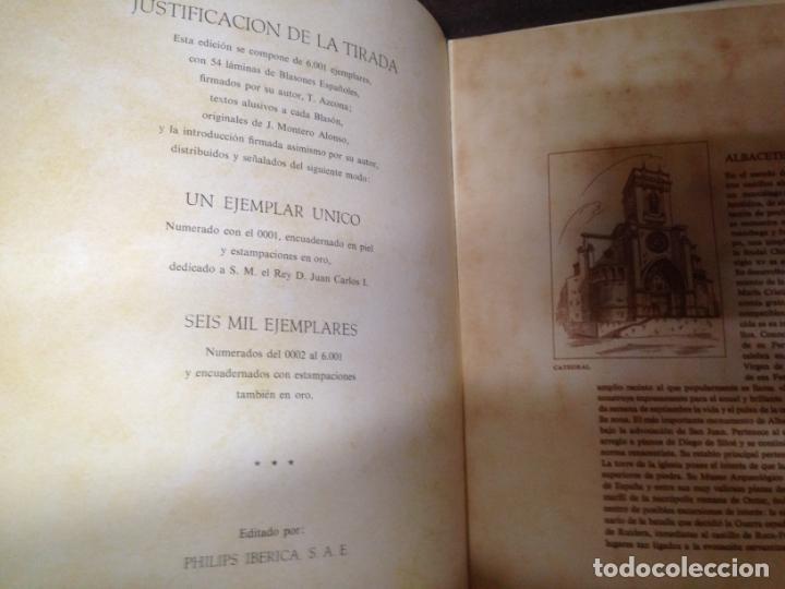 Libros de segunda mano: LIBRO EDICION LIMITADA BLASONES DE ESPAÑA - Foto 3 - 147497866