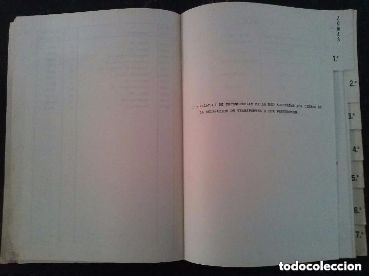 Libros de segunda mano: RENFE JUNIO 1977 NOMENCLATOR PARA VAGON COMPLETO - Foto 3 - 147505674