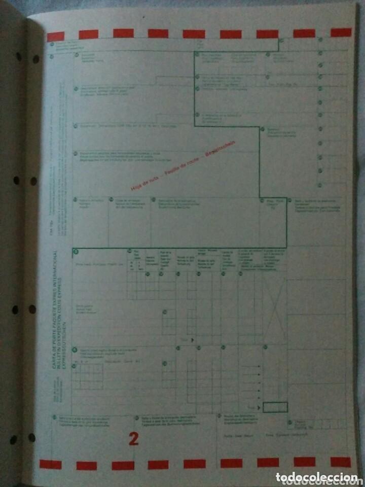 RENFE PRESCRIPCIONES INTERNACIONALES PAQUETE EXPRES AÑO 1975 (Libros de Segunda Mano - Ciencias, Manuales y Oficios - Otros)