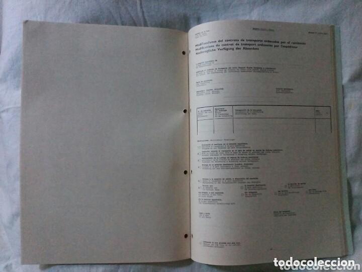 Libros de segunda mano: RENFE PRESCRIPCIONES INTERNACIONALES PAQUETE EXPRES AÑO 1975 - Foto 3 - 147507898
