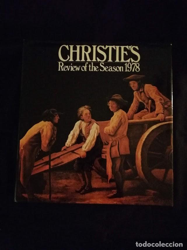 CHRISTIE'S- CATALOGO TEMPORADA 1978 (Libros de Segunda Mano - Bellas artes, ocio y coleccionismo - Otros)