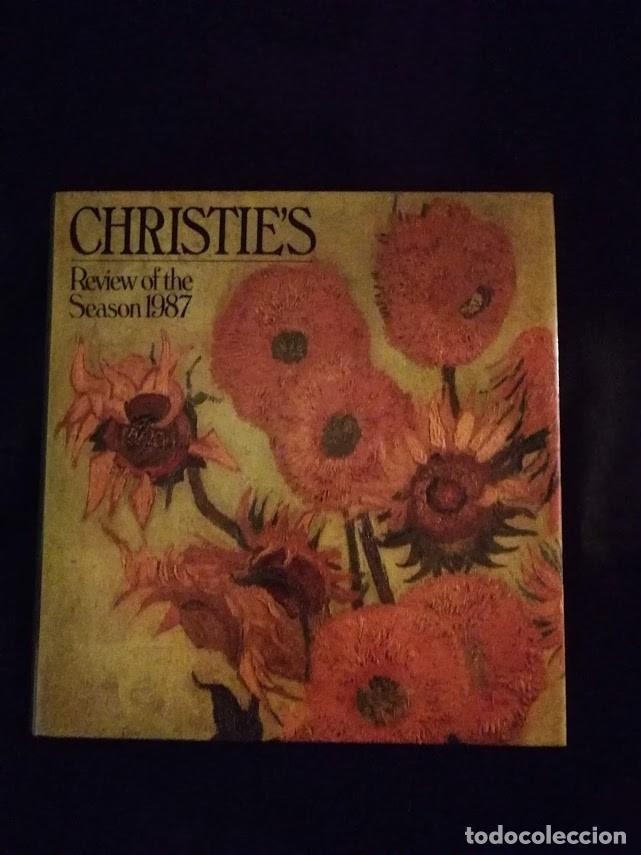 CHRISTIE'S- CATALOGO TEMPORADA 1987 (Libros de Segunda Mano - Bellas artes, ocio y coleccionismo - Otros)