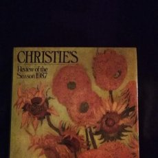 Libros de segunda mano: CHRISTIE'S- CATALOGO TEMPORADA 1987. Lote 147517998