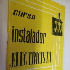 Libros de segunda mano: CURSO DE INSTALADOR ELECTRICISTA CEAC 1976 24 TOMOS CURSO COMPLETO. Lote 241117490