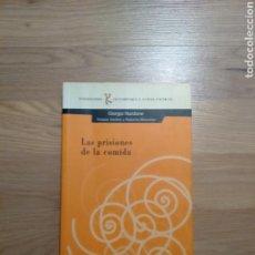 Libros de segunda mano: LAS PRISIONES DE LA COMIDA. GIORGIO NARDONE.. Lote 147531176