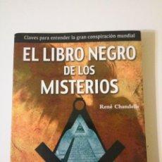 Libros de segunda mano: EL LIBRO NEGRO DE LOS MISTERIOS. Lote 147534946