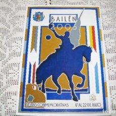 Libros de segunda mano: BAILÉN 2005 FIESTAS CONMEMORATIVAS 17 AL 22 DE JULIO . Lote 147536534