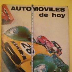 Libros de segunda mano: AUTOMOVILES DE HOY-AÑO1967-PLAZA JANES-EDITORIAL. Lote 147542890