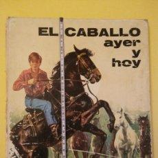 Libros de segunda mano: EL CABALLO AYER Y HOY-AÑO1972-PLAZA JANES-EDITORIAL. Lote 147543194