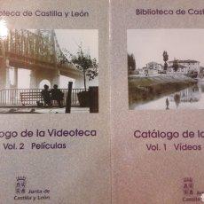 Libros de segunda mano: CATALOGO DE LA VIDEOTECA CASTILLA Y LEON DOS VOLUMENES 1998. Lote 147590786
