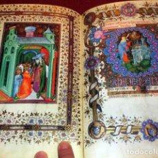Libros de segunda mano: LIBRO DE HORAS PARA EL CONDE DE VISCONTI, MÁS DE 100 LÁMINAS FACSÍMILES. Lote 214415360