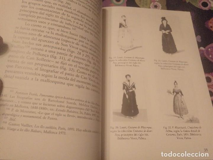 Libros de segunda mano: TRAJES DE LA ISLA DE MALLORCA. CRISTÓBAL VILELLA. JOSÉ J. DE OLAÑETA,EDITOR. 2000. UNIC A TC!!!! - Foto 8 - 147745126