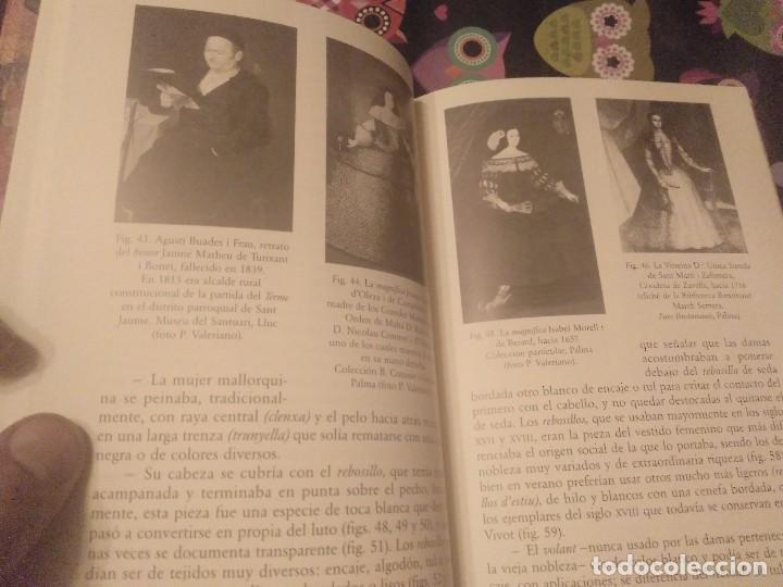 Libros de segunda mano: TRAJES DE LA ISLA DE MALLORCA. CRISTÓBAL VILELLA. JOSÉ J. DE OLAÑETA,EDITOR. 2000. UNIC A TC!!!! - Foto 13 - 147745126