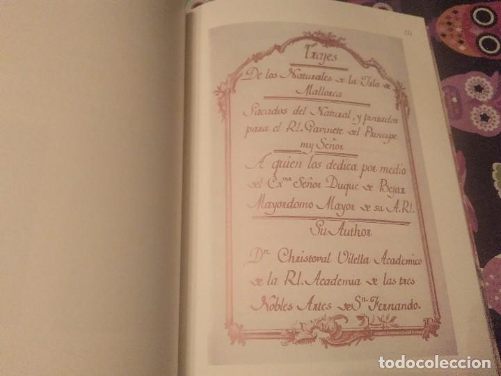 Libros de segunda mano: TRAJES DE LA ISLA DE MALLORCA. CRISTÓBAL VILELLA. JOSÉ J. DE OLAÑETA,EDITOR. 2000. UNIC A TC!!!! - Foto 17 - 147745126