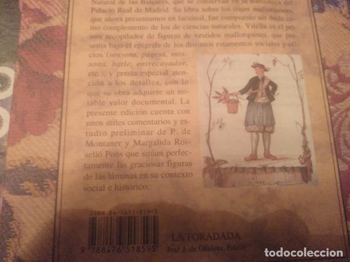 Libros de segunda mano: TRAJES DE LA ISLA DE MALLORCA. CRISTÓBAL VILELLA. JOSÉ J. DE OLAÑETA,EDITOR. 2000. UNIC A TC!!!! - Foto 29 - 147745126