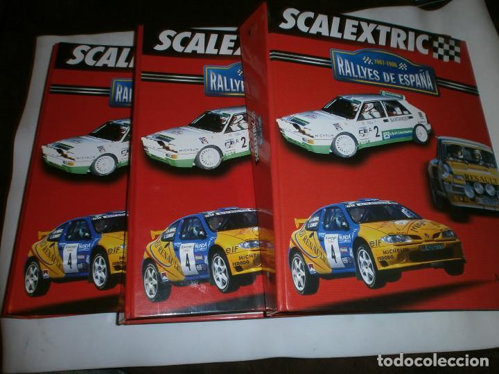 SCALEXTRIC RALLYES DE ESPAÑA 1967-1998 3 TOMOS COMPLETOS (Libros de Segunda Mano - Ciencias, Manuales y Oficios - Otros)