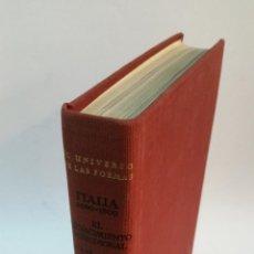 Libros de segunda mano: 1966 - ANDRÉ CHASTEL - EL RENACIMIENTO MERIDIONAL - AGUILAR, EL UNIVERSO DE LAS FORMAS. Lote 147853498
