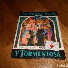 Libros de segunda mano: ERA UNA NOCHE OSCURA Y TORMENTOSA, LIBRO EN 3 DIMENSIONES, 1992. Lote 147893906