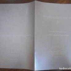 Libros de segunda mano: L'ESCULTURA PLENSIANA O L'ART DE SENSIBILITZAR L'ESPAI DISCURS D'INNAGURACIÓ DEL CURS 2015-2016 . Lote 147945142