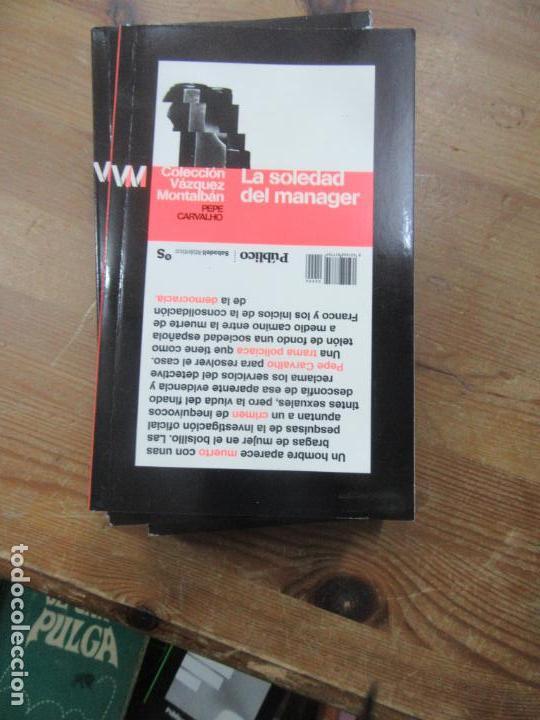 LIBRO LA SOLEDAD DEL MANAGER PEPE CARVALHO 2009 ED. DIARIO PUBLICO L-809-1104 (Libros de Segunda Mano (posteriores a 1936) - Literatura - Otros)