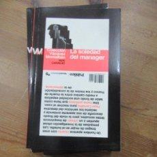 Libros de segunda mano: LIBRO LA SOLEDAD DEL MANAGER PEPE CARVALHO 2009 ED. DIARIO PUBLICO L-809-1104. Lote 147984706