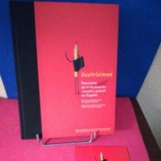 Libros de segunda mano: ILUSTRÍSIMOS,PANORAMA DE ILUSTRACIÓN INFANTIL Y JUVENIL EN ESPAÑA-2005 BOLIGNA EXHIBITION LIBRO+CD. Lote 147987898