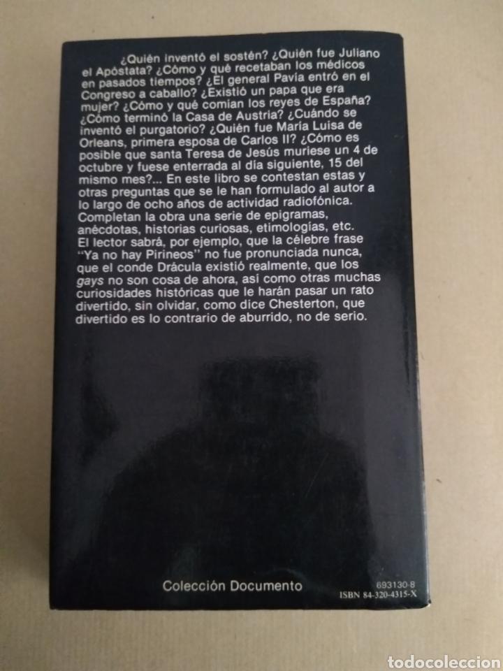 Libros de segunda mano: HISTORIAS DE LA HISTORIA/ CARLOS FISAS - Foto 2 - 147991233