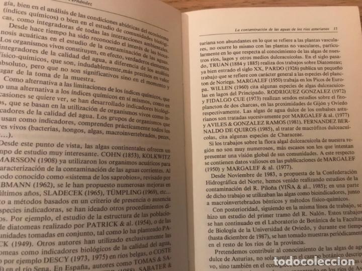 Libros de segunda mano: LA CONTAMINACIÓN DE LAS AGUAS DE LOS RÍOS ASTURIANOS. JOSE RAMON ALONSO FERNANDEZ - Foto 2 - 147996878