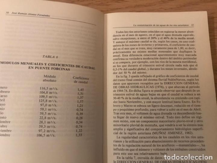 Libros de segunda mano: LA CONTAMINACIÓN DE LAS AGUAS DE LOS RÍOS ASTURIANOS. JOSE RAMON ALONSO FERNANDEZ - Foto 3 - 147996878