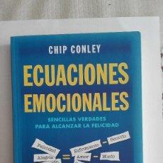 Libros de segunda mano: ECUACIONES EMOCIONALES CHIP CONLEY. Lote 148032234