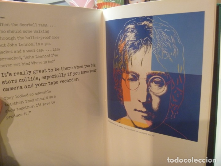 Libros de segunda mano: ANDY WARHOL GALERÍA LAS VEGAS EDICIÓN COLECCIONISTA MÁS REGALO LISA MINNELLI PÓSTER - Foto 13 - 148063426