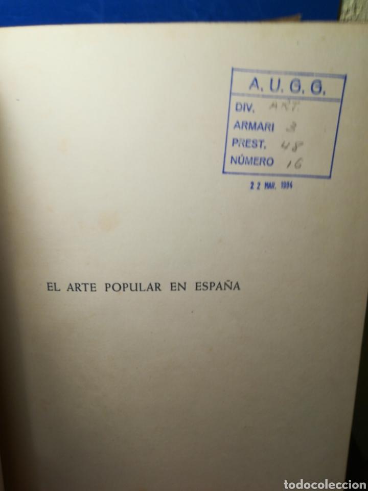 Libros de segunda mano: El arte popular en España - Juan Subías Galter - Seix Barral, 1948 - Foto 6 - 148064294