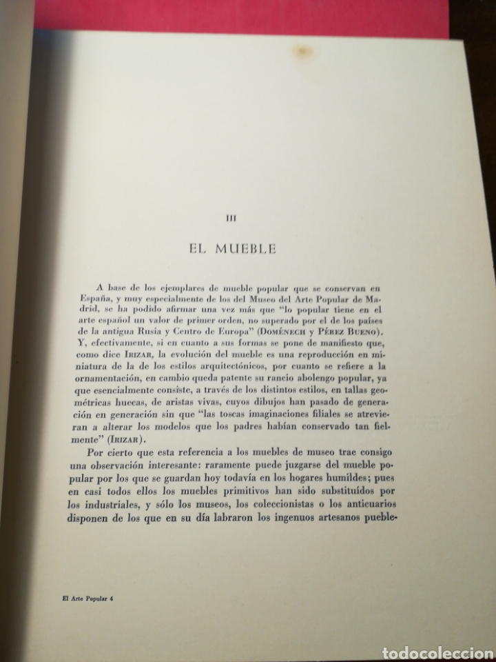 Libros de segunda mano: El arte popular en España - Juan Subías Galter - Seix Barral, 1948 - Foto 7 - 148064294