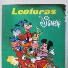 Libros de segunda mano: LECTURAS DISNEY. EDICIÓN ESPECIAL. WALT DISNEY. 1972. Lote 148065206
