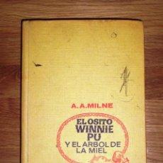 Libros de segunda mano: MILNE, A.A. EL OSITO WINNIE PU Y EL ÁRBOL DE LA MIEL (COLECCION CINELANDIA). - 1ª ED. . Lote 148090750